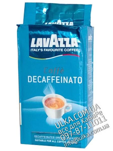 Молотый кофе Lavazza Decaffeinato 250 гр Lavazza