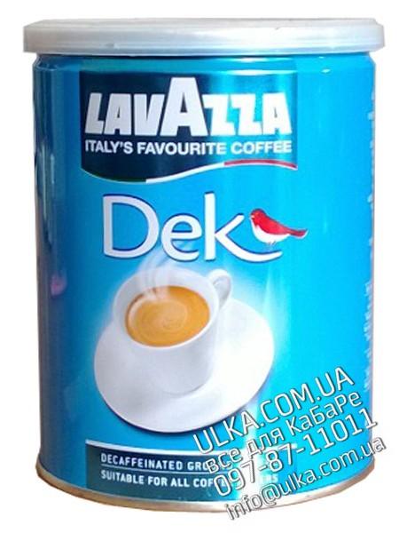 Молотый кофе Lavazza Dek Ж/Б 250 гр Lavazza