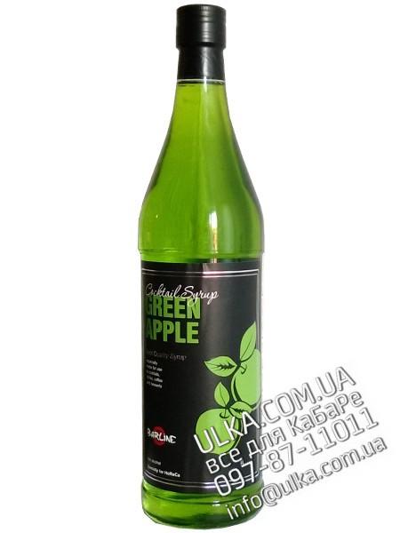 Сироп Barline Зеленое яблоко 1 л Barline