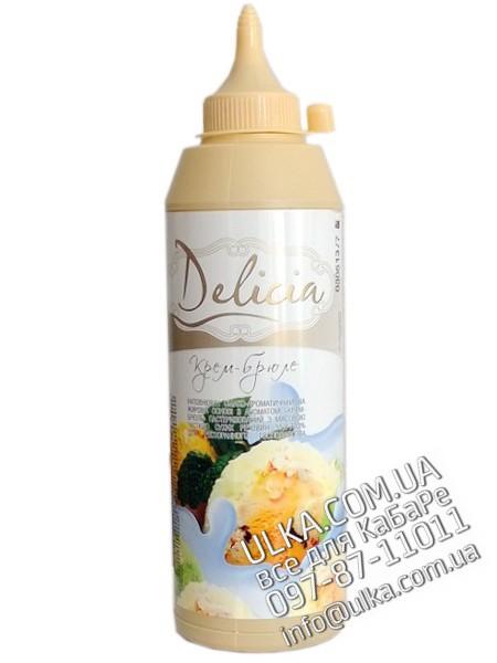 Топпинг Delicia Крем-брюле 600 гр Delicia