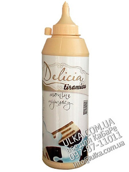 Топпинг Delicia Тирамису 600 гр Delicia