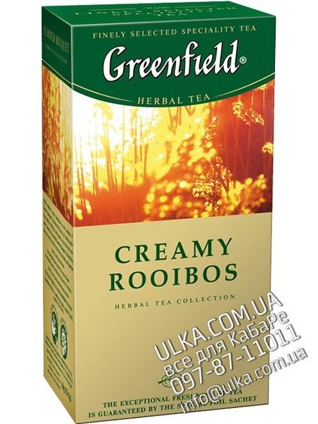 Чай травяной Greenfield Creamy Rooibos, 25 пак. Greenfield