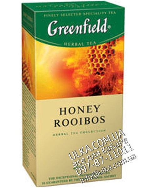 Чай травяной Greenfield Honey Rooibos, 25 пак Greenfield