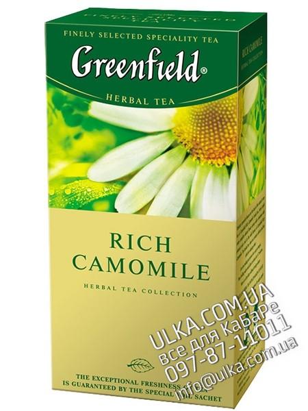Чай травяной Greenfield Rich Camomile, 25 пак. Greenfield