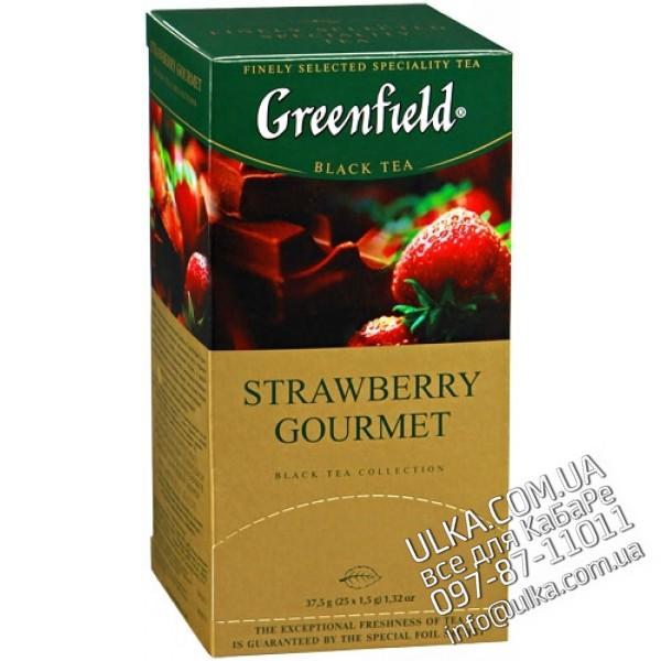 Чай черный Greenfield Strawberry Gourmet, 25 пак Greenfield