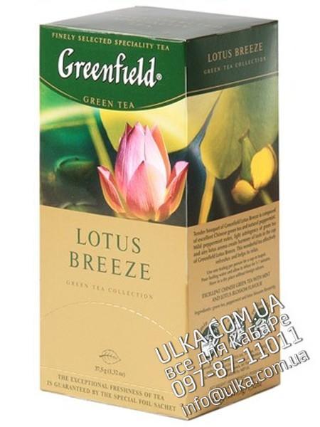 Чай Greenfield Лотос, 25 пакет. Greenfield