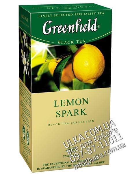 Чай Greenfield Lemon Spark, 25 пакет. Greenfield