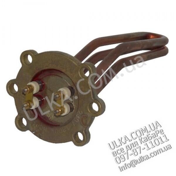 HEIZKOERPER GR/1 1800W 220V (Rund 4-Loch LA55/30mm, 185mm, 4AL) ! PD(3)