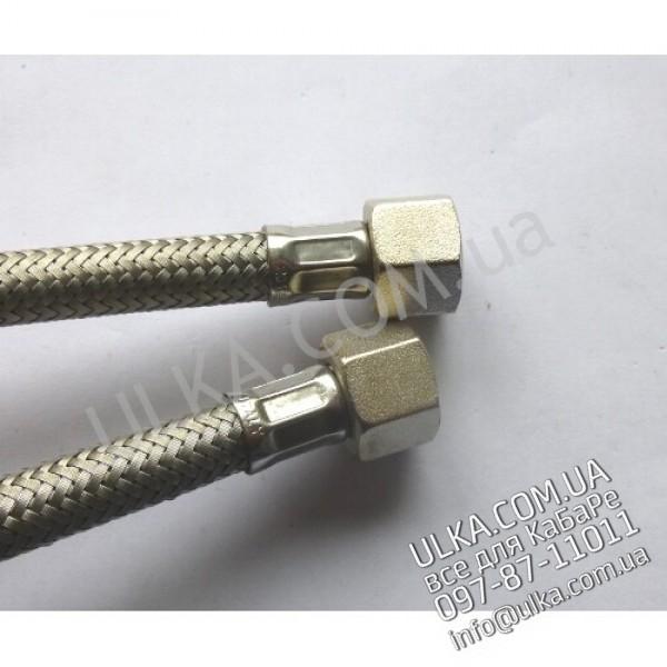 SCHLAUCH EDELSTAHL 3/8Zoll W-3/8Zoll W 50cm ! PD(3)